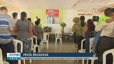 Festa de Nossa Senhora da Conceição é celebrada com procissão e corrida de rua em Macapá - Ponto alto da festividade acontece neste sábado (8), no dia em homenagem à santa. Programação segue até dia 15.