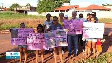 Moradores do Taquari protestam por segurança, pavimentação e melhorias na saúde e educação - Moradores do Taquari protestam por segurança, pavimentação e melhorias na saúde e educação