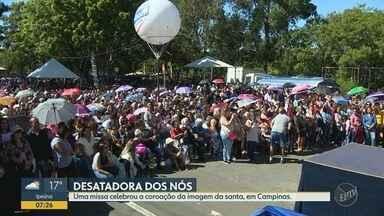 Missa reúne milhares de católicos na Igreja Nossa Senhora Desatadora de Nós, em Campinas - Confira como foi o evento no fim de semana.