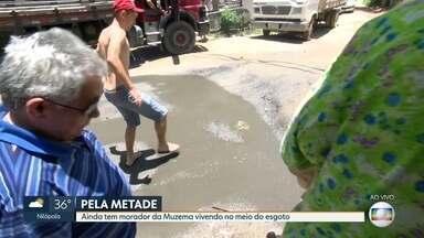 Moradores da Muzema querem a conclusão de uma obra da prefeitura - O RJ Móvel acompanha o sufoco de quem vive no bairro há três anos.