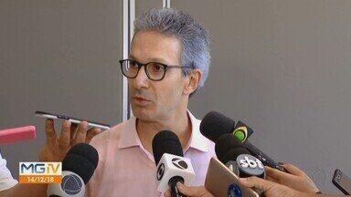 Governador eleito Romeu Zema se reúne com empresários em Uberlândia - Em entrevista, ele falou sobre a situação financeira do Estado de MG.