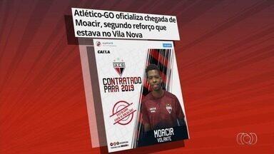Atlético-GO anuncia volante Moacir, ex-Vila Nova - Jogador troca o Tigre pelo Dragão em 2019