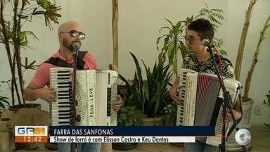 Elisson Castro e Keu Dantas se apresentam neste fim de semana em Petrolina - Os shows serão nesta sexta (14) e no sábado (15).