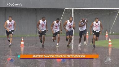 Árbitros baianos se preparam para o Baianão 2019 - Veja como está sendo a pré temporada dos árbitros.
