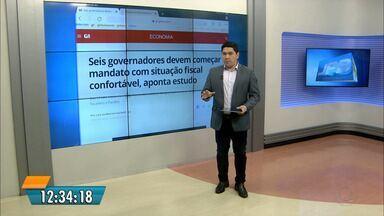 A Paraíba entra 2019 com as contas públicas equilibradas - O governador eleito, João Azevêdo, está entre os seis novos gestores que devem começar o mandato com a situação fiscal confortável.