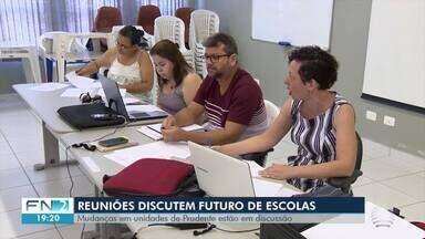Reuniões discutem futuro de escolas em Presidente Prudente - Conselho de Educação emitiu um parecer sobre mudanças na rede municipal.