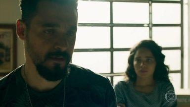 Barão se emociona quando Paulina decide lhe dar uma segunda chance - A jovem afirma que quer colocar um ponto final no sofrimento dos dois