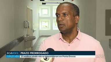 Em Ponta Grossa, 21 médicos ainda não se apresentaram - Eles foram chamados para substituir os cubanos do programa Mais Médicos.