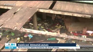 Em Altamira, no Pará, moradores são remanejados de área de lagoa sujeita a alagamentos - Na região, há instalações da Norte Energia que afetam os moradores.