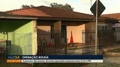 Operação Boleia termina com três presos no Paraná - Em Colombo, uma pessoa foi detida. Outras duas estavam tentando sair do Estado, em direção a Santa Catarina.