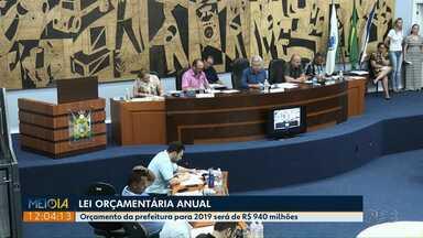 Vereadores de Ponta Grossa aprovam Lei Orçamentária Anual para 2019 - Prefeitura terá cerca de R$ 940 milhões para o próximo ano.