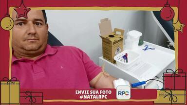 O Anderson fez a sua boa ação no Natal RPC - Participe também dessa campanha.