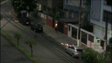 Homem pôs fogo em morador de rua em Santos - Suspeito foi preso, confessou o crime e acusou a vítima de roubo