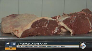 Preço da carne para churrasco está mais caro - Essa opção para as festas de fim de ano vai pesar no bolso.