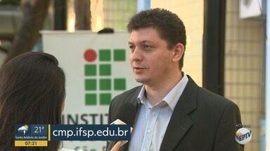 Instituto Federal , em Campinas, tem vagas para cursos de formação inicial e continuada - Confira como se candidatar a uma destas oportunidades.