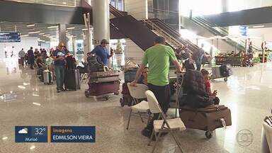 Aeroporto Internacional de Belo Horizonte volta a funcionar em Confins, na Grande BH - Terminal ficou fechado por 21 horas depois de pouso de emergência de Boeing 777 da Latam.