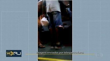 Bandidos e policiais trocam tiros em Madureira - O passageiro de um ônibus foi baleado no confronto.
