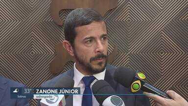OAB critica ação da PF em endereços ligados a defensor de agressor de Bolsonaro - Nesta manhã, policiais apreenderam celular de Zanone Júnior e imagens de circuito interno do hotel onde ele mora e tem escritório na Grande BH.