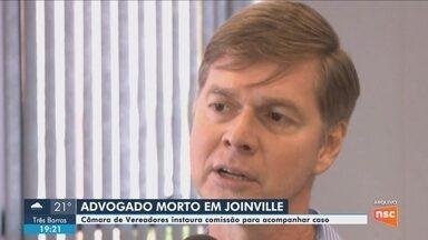 Polícia investiga caso de advogado da Câmara de Vereadores de Joinville encontrado morto - Polícia investiga caso de advogado da Câmara de Vereadores de Joinville encontrado morto