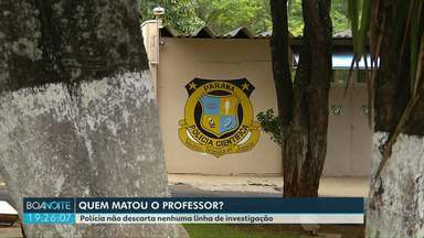 Polícia tenta descobrir quem matou o professor Lincon - Corpo foi encontrado na periferia de Foz.