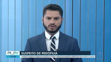 Homem é preso em Itaperuna suspeito de pedofilia - Assista a seguir.