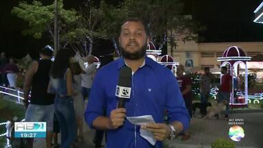 Magia do Natal tem programação especial em Garanhuns - Confira a programação com o repórter Diogo Franco.