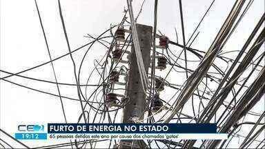 65 pessoas foram presas este ano no Ceará por furto de energia - Outras informações no g1.com.br/ce