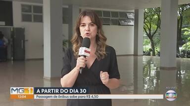 Passagem de ônibus sobe para R$ 4,50 a partir de domingoem Belo Horizonte - Acordo foi fechado nesta quarta-feira (26) entre a prefeitura e os empresários.