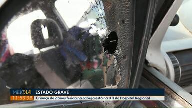 PM abre inquérito militar para apurar ação que deixou criança baleada em Castro - O menino de dois anos está internado em estado gravíssimo.