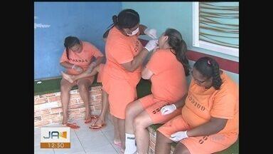 Projetos de ressocialização viram alternativa para detentos em penitenciárias de SC - Projetos de ressocialização viram alternativa para detentos em penitenciárias de SC