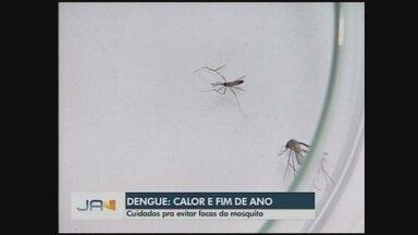 Vigilância alerta para medidas para conter proliferação de focos do Aedes aegypti - Vigilância alerta para medidas para conter proliferação de focos do Aedes aegypti