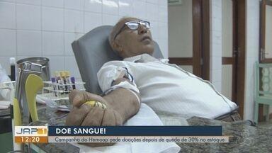 Hemoap faz campanha para doação de sangue neste fim de ano - Hemoap faz campanha para doação de sangue neste fim de ano