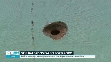 Atirador abre fogo e atinge seis pessoas em Belford Roxo, na Baixada Fluminense - Polícia investiga motivação e autoria dos disparos contra as vítimas.