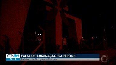 Parque Ecológico continua sem iluminação em Presidente Prudente - Situação é alvo de reclamação de moradores.