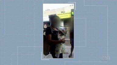 Polícia procura por mãe que ofereceu recém-nascido para desconhecidos em Aparecida - Mulher seria natural da Bahia e fugiu do hospital em que deu à luz antes mesmo de receber alta. Segundo testemunha, mãe tem outros quatro filhos e caçula não seria do marido.