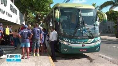 Corredores pernambucanos pegam a estrada para disputar Corrida de São Silvestre - Grupo de 44 atletas partiu de Pernambuco nesta quarta (26) rumo a São Paulo.