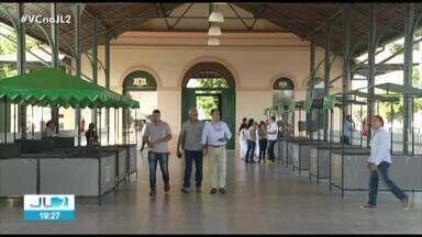 Prédio da estação ferroviária de Icoaraci é reinaugurado em Belém, após 5 anos de abandono - O espaço agora dá lugar para o artesanato.
