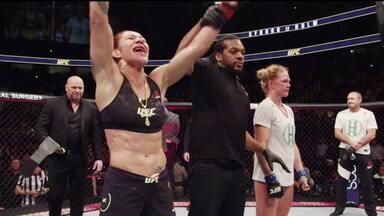 Cris Cyborg e Amanda Nunes medem força no UFC 232 - Cris Cyborg e Amanda Nunes medem força no UFC 232