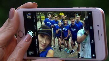 São Silvestre bomba nas redes sociais, mas selfies podem atrapalhar a corrida - São Silvestre bomba nas redes sociais, mas selfies podem atrapalhar a corrida