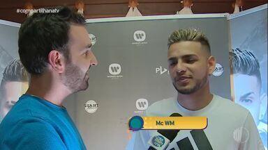 Entrevista com MC WM - Ele respondeu perguntas no estilo da brincadeira 'Eu Nunca'.