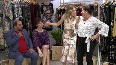 Dani Ferraz dá dicas para as compras de Sílvia - Confira as peças escolhidas para compor o novo visual da manauara