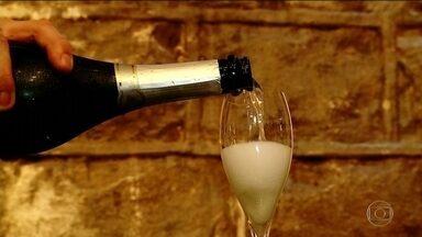 Espumante ocupa cada vez mais espaço nas comemorações brasileiras - As exportações da bebida nacional também estão em alta.