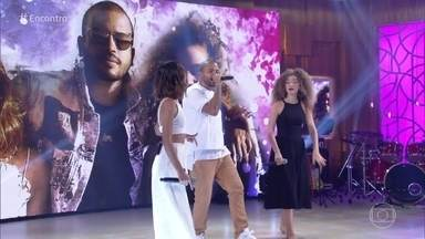 Anavitória e Projota abrem o primeiro Encontro de 2019 - Eles cantam 'Linda'
