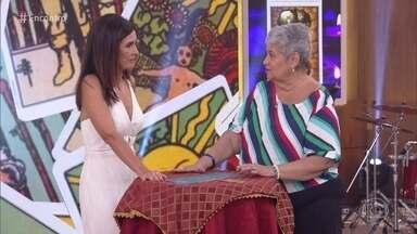 Glória Britho diz como será o ano de Fátima Bernardes - Taróloga explica carta tirada pela Fátima e deixa a apresentadora aflita