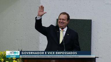 Mauro Carlesse toma posse para o segundo mandato como governador do Tocantins - undefined