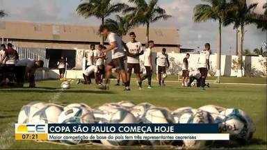 Copinha SP movimenta clubes de base de todo o país - Competição começa hoje, em São Paulo