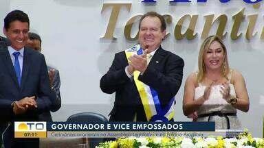 Mauro Carlesse toma posse como governador do Tocantins para os próximos 4 anos - undefined