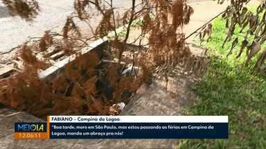 Telespectador da RPC reclama de bueiros abertos - Segundo a prefeitura, a demanda tem atrasado os trabalhos de recuperação dos bueiros.