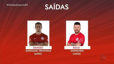 Jogadores se reapresentam no Inter nesta quinta-feira (3) - Dois atletas foram anunciados como reforços para a temporada de 2019.