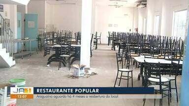 Restaurante Comunitário de Araguaína está fechado há 4 meses - Restaurante Comunitário de Araguaína está fechado há 4 meses